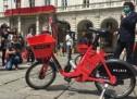 A Torino da maggio più di 3mila corse in bici con Helbiz
