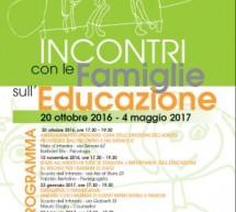 Le famiglie e la Città si confrontano sull'educazione. Domani il primo incontro