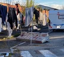 Insediamento abusivo di nomadi. Nuovo intervento della Polizia municipale
