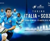 Via al conto alla rovescia per Italia-Scozia di rugby