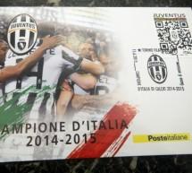 Poste Italiane celebra la  Juventus con un francobollo