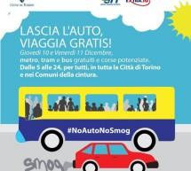 Bus gratis, due giorni contro lo smog