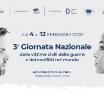 A Torino le celebrazioni per la Giornata nazionale delle vittime civili delle guerre e dei conflitti nel mondo