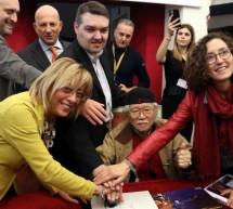 Matsumoto a Torino, annullo filatelico per il suo Capitan Harlock