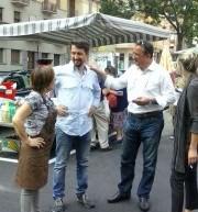 Riaperto oggi il mercato di piazza Barcellona dopo il restyling