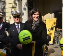 Uno scooter elettrico Mimoto alla Polizia Municipale
