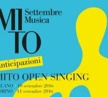 MiTo 2016: online le partiture dell'open singing