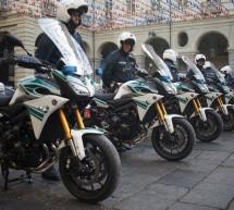 Nuove moto per la Polizia Municipale