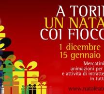 """""""A Torino un Natale coi fiocchi"""". Con l'accensione dell'albero entrano nel vivo le manifestazioni"""