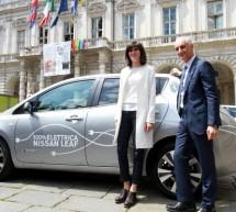 Una Nissan Leaf per la Città di Torino