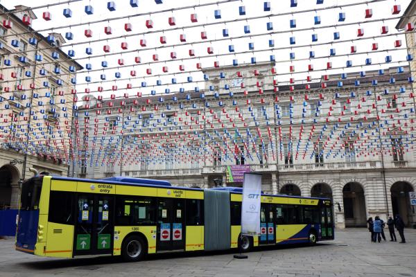 Prosegue il rinnovo della flotta GTT, da oggi in servizio 20 nuovi bus