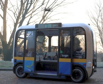 "Innovazione e Mobilità: a Torino è arrivata ""Olli"", una navetta elettrica a guida autonoma"