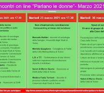 """Parità di genere, un traguardo ancora lontano. """"Parlano le donne"""", una serie di incontri online della Città di Torino"""
