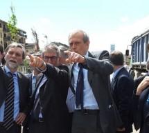 Il Ministro Delrio in visita al passante ferroviario