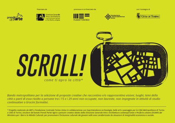 Scroll!, un bando per scoprire giovani talenti artistici