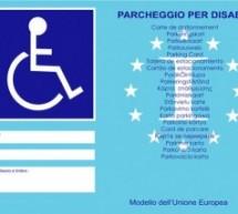 I contrassegni per disabili di colore arancio devono essere sostituiti entro il 15 settembre