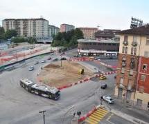 Riqualificazione del viale della Spina: proseguono i lavori in piazza Baldissera