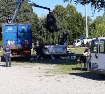 Sicurezza urbana: intervento della Polizia municipale nell'area camper di piazza d'Armi