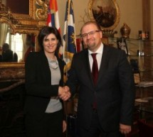 Ricevuto a Palazzo Civico l'Ambasciatore della Bielorussia