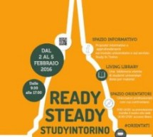 Da oggi porte aperte a Ready, Steady… Studyintorino