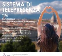 """Tim, Comune di Torino, Città della Salute e CasaOz: nuova tecnologia per """"telepresenza"""" tra pazienti e familiari"""
