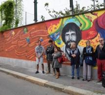 Un murales per ricordare Mauro Rostagno, vittima di mafia