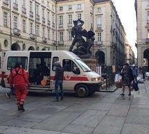 Trasferiti a Torino Esposizioni i senza dimora presenti in piazza Palazzo di Città