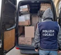 Porta Palazzo, sequestrata mezza tonnellata di sacchetti di plastica non compostabili