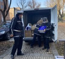"""""""Spesa solidale"""", la Polizia municipale di nuovo in prima linea nella donazione di generi alimentari alle famiglie in difficoltà"""