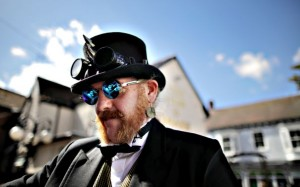 Participants From Around The Globe Attend The Asylum Steampunk F