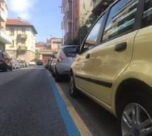 Al via in Vanchiglia la tracciatura delle strisce giallo e blu