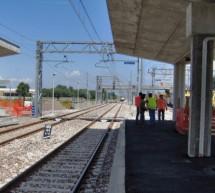 Lavori alla stazione Torino Stura