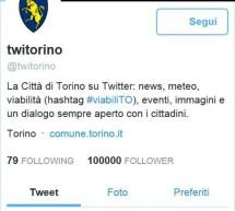 """Centomila """"seguaci"""" per @twitorino"""