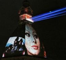 La Mole come un grande schermo, sulla cupola uno spettacolo di videomapping per l'omaggio al cinema